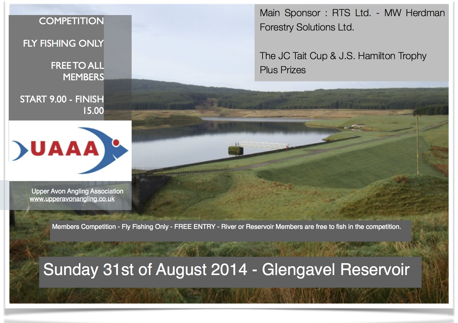 UAAA Members Competition August 31st 2014