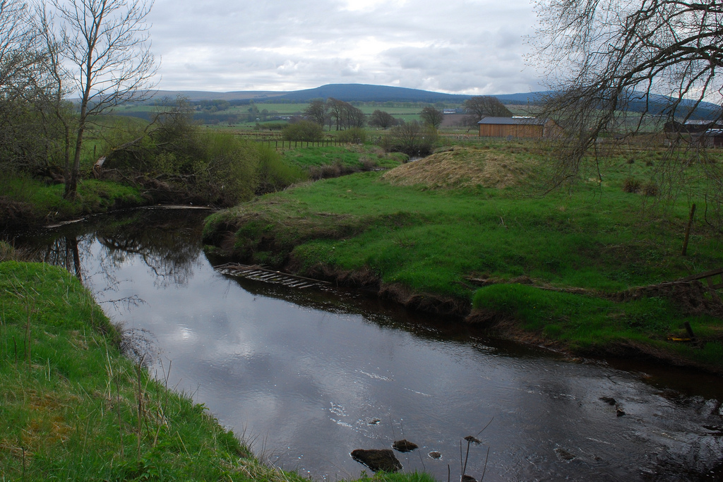 The Avon at Torfoot Bridge Drumclog by James B Brown