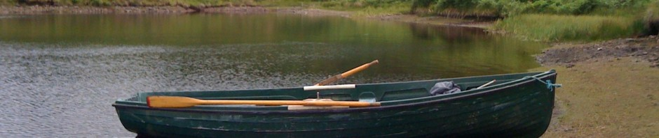 """This photo sums up """"Glengavel"""" to me - a light ripple & free rising trout."""