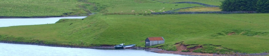 Glengavel Boathouse by James Muldoon