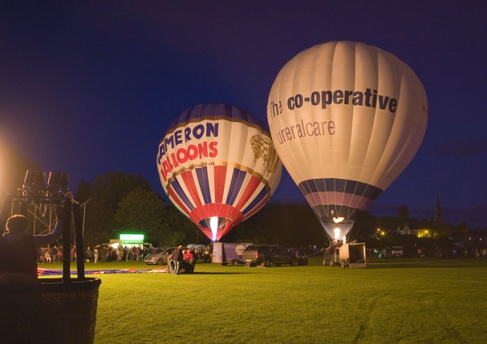 Strathaven Ballon Festival by David Smith