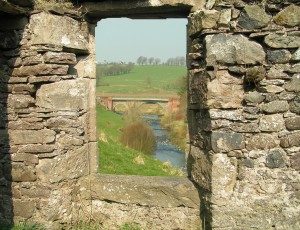 Browns Bridge - through the window by James Muldoon