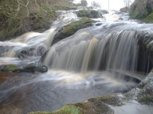 Falls on the Lochar Burn by James Muldoon