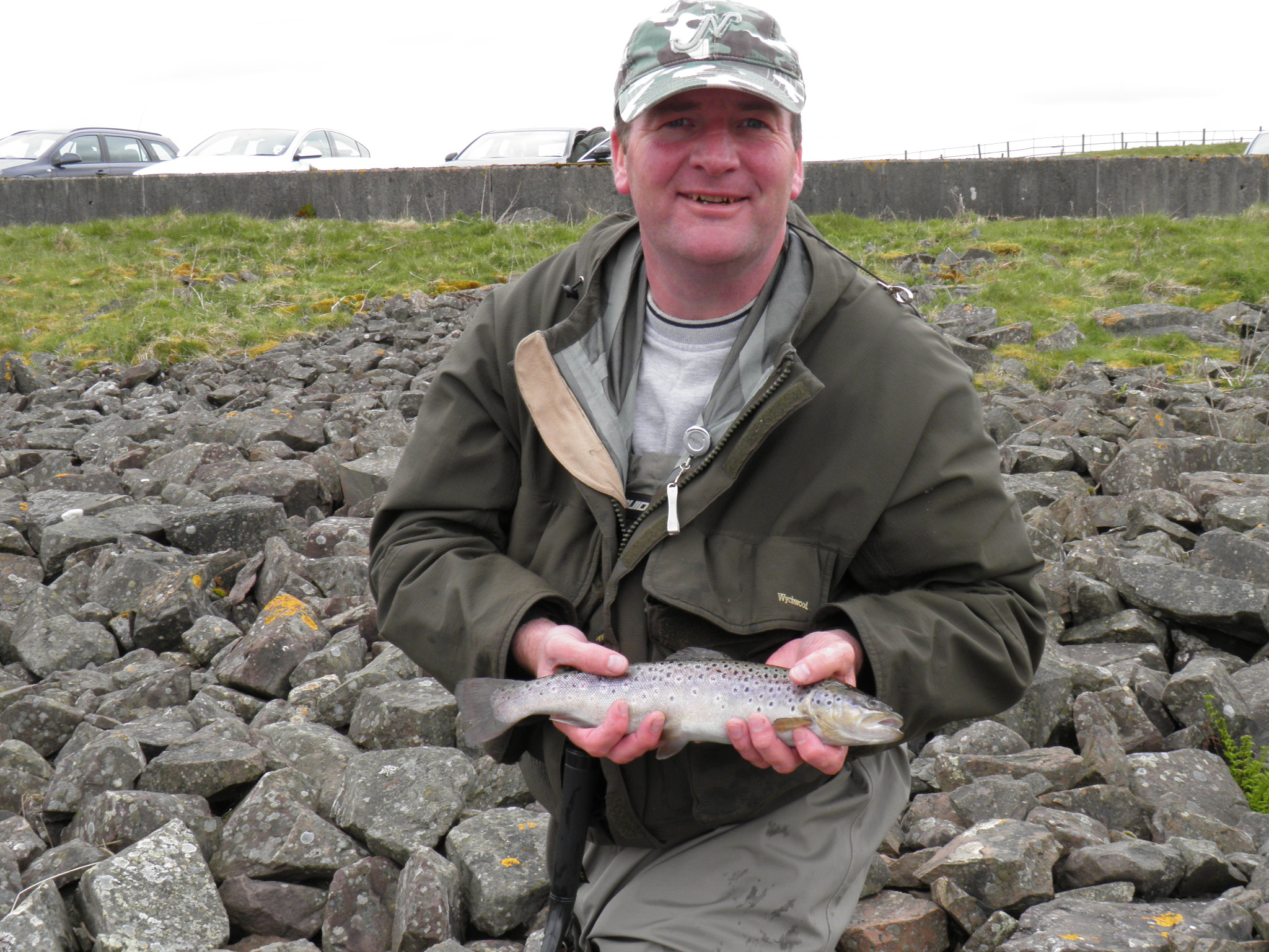 Gordon with another fine Glengavel Brownie