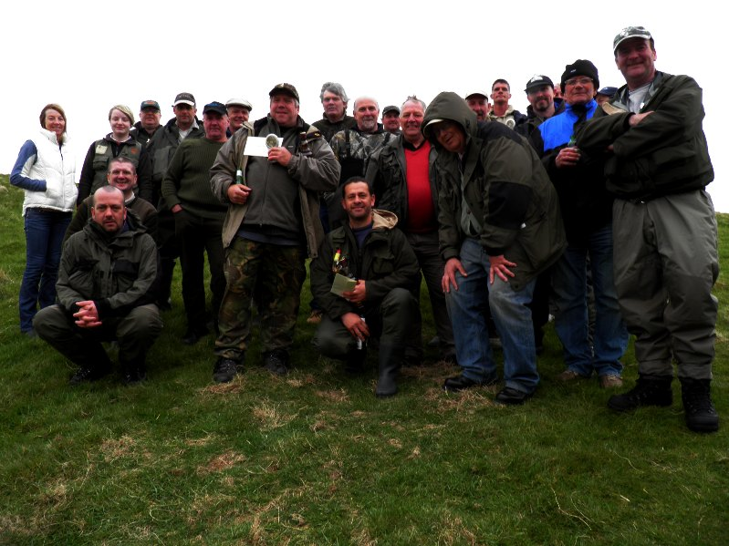 Some of our Anglers after a competiton