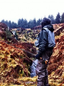 Geo takes a walk up the Spoutloch Burn.
