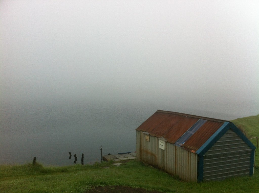 Mist on Glengavel @ the Boat House.