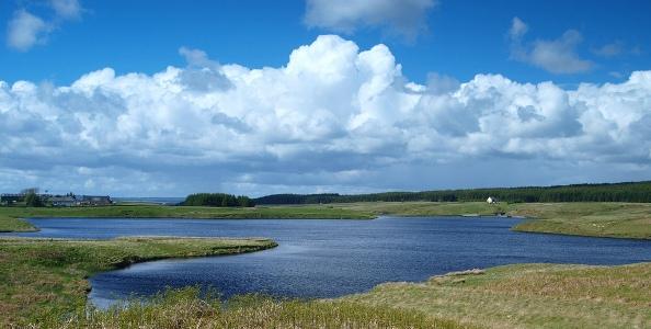 Glengavel Looking East by James Muldoon