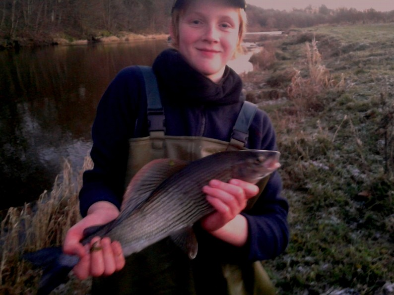 A Grayling of a lifetime !!! Well done what a cracker!!!