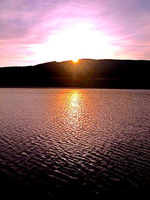 Sun Rises at Glengavel.